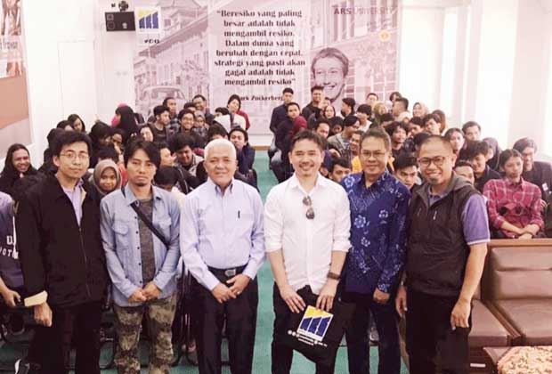 ARS University Gelar Workshop Internasional, Digital Designing in Ilustration